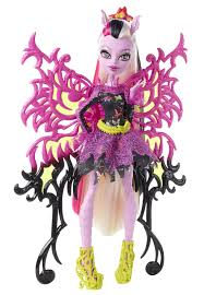 amazon com monster high freaky fusion bonita femur doll