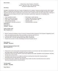 Restaurant Waitress Resume Sample by Sample Restaurant Server Resume 6 Examples In Word Pdf