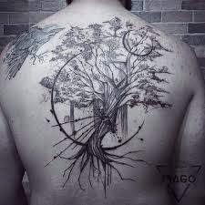 connect your roots tree tattoos inked cartel