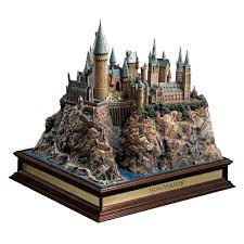 hogwarts castle replica by noble collection harrypottershop com