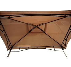Bbq Grill Awnings Outsunny 8 U0027x5 U0027 Bbq Gazebo Tent Pavilion Grill Canopy Shade Coffee