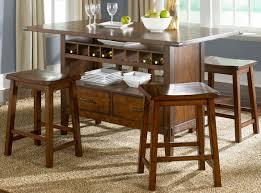 Kitchen Bar Table With Storage Wine Storage Bar Table Dining Room Set Kitchen Furniture Ezol Decor
