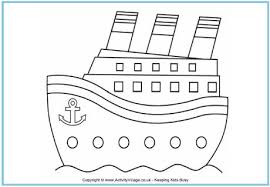Boat Outline Free Download Clip Art Free Clip Art Clipart