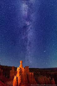 milky way stars over thor s hammer bryce canyon starry n flickr