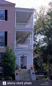 charleston south carolina typical charleston style house with side