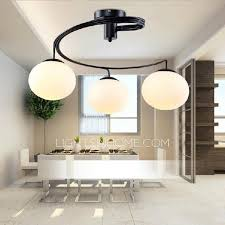 Globe Ceiling Light Fixtures by Glass Shade 3 Light Modern Ceiling Light Fixtures For Bedroom