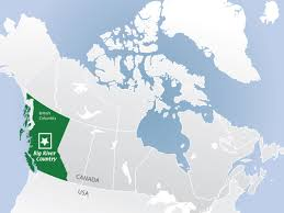 Canada On A Map Maps