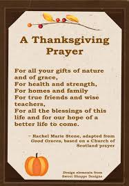 thanksgiving thanksgiving prayer for childrena blessings chords