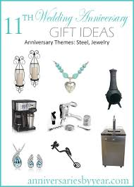 11 year anniversary gift ideas 11th year anniversary 11th anniversary gifts