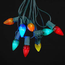 multi colored c7 bulbs novelty lights inc