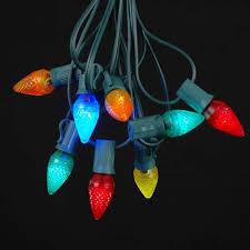 multi colored c7 bulbs novelty lights inc