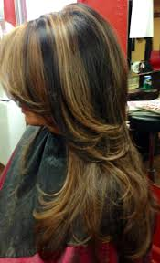 light brown hair with caramel highlights on african americans caramel and red highlights in dark brown hair fashion trend up