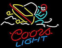 coors light sign amazon coors light snowmobile neon sign 24 x20 inches bright ne https