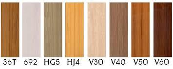 orange color shades synwood panels