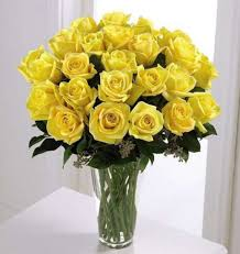 yellow roses arranged in vase kremp com