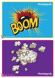 themed posters pet onomatopoeia posters theme free classroom