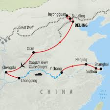 Beijing On World Map by China Tours Holidays To China On The Go Tours