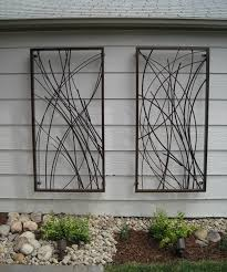 Metal Wall Art For Outside Fascinating Wall Art Designs