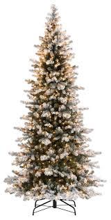 9 ft slim pre lit tree