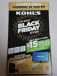 best black friday deals at kohls kohl u0027s black friday 2015 free 5 off 5 coupon mailed to some