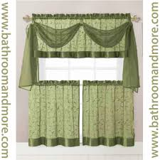 Sage Green Kitchen Ideas by Kitchen Curtain Green Decorate The House With Beautiful Curtains