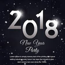 happy new years posters creative new year poster designs vector free