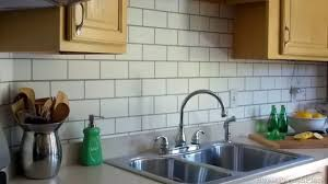 subway tile backsplash in kitchen kitchen subway tile backsplash kitchen verdesmoke copper