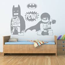 wall stickers custom decals ns vinyls com lego batman robin wall sticker 17 99