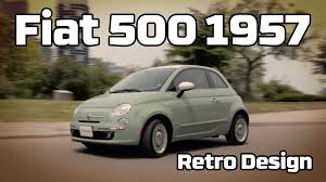 2016 fiat 500 1957 edition review youtube