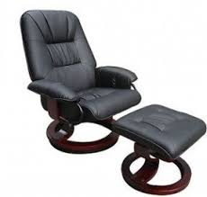 Faux Leather Recliner Leather Massage Chair Recliner Foter
