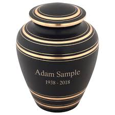 urns for sale elite onyx ii brass cremation urn for ashes