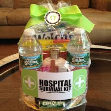hospital gift basket get better gift ideas surgery gift and bag