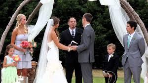 wedding ceremonies michael and s wedding ceremony august 2 2013