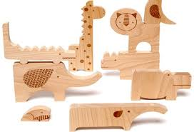 wood gifts wood puzzle and play set 34 green gift guide