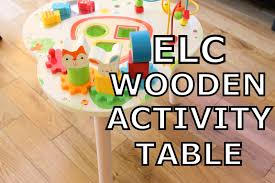 wooden activity table for katey lewis baby lifestyle beauty elc wooden activity table