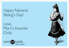 National Sibling Day Meme - happy national sibling day cats cartoon