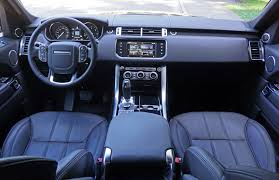 land rover hse interior 2016 range rover sport hse td6 road test review carcostcanada