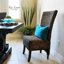 the key largo dining chair in a west indies style dining room