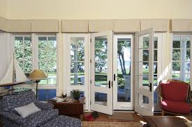 Interior French Doors Toronto - french doors leading to deck traditional family u0026 games room