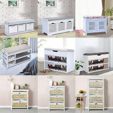 Shoe Storage Bench Shoe Storage Seat Ebay