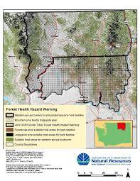 Washington Ferry Map Forest Health Hazard Warning Wa Dnr