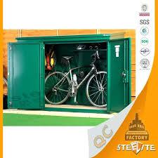 Outdoor Storage Cabinet Waterproof Bike Storage Cabinet Bicycle Outdoor Storage Waterproof Outdoor
