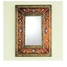 Bathroom Mirror And Shelf Metal Frame Mirror Handmade Warmth Wood Frame Mirror Metal Frame