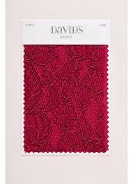 red swatch apple fabric swatch david s bridal
