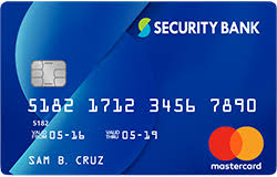 credit cards apply online security bank philippines