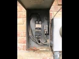 electrical service panel u0026 meter base replacement 03 nisat