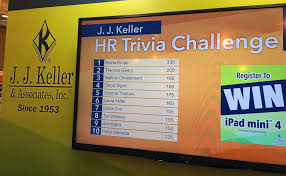 With Challenge Challenge Bar Interactive Trade Show Booth