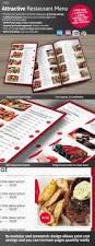 elegant restaurant menu designs ready for printing everything