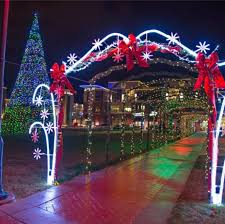 christmas lights wichita ks manhattan festival of lights at blue earth plaza 1641 anderson ave