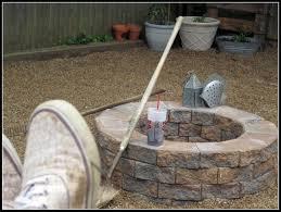 How To Build Cheap Fire Pit Building A Cheap Firepit U2013 Modern Garden